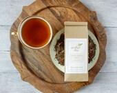 Nutty Mocha Mate Tea • 4 oz. Kraft Bag • Roasted Yerba Mate w/ Hazelnut & Chocolate • Loose Leaf Blend