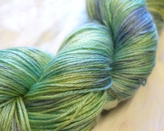 Angoraglow Kid Mohair 4 ply yarn hand dyed