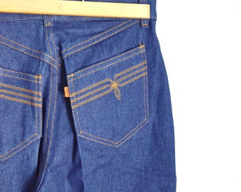 Vintage 1978 70s High Waisted Denim LEVI's Womens New Old Stock NOS Jeans // 29x34