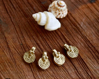brass charms, brass beads, tribal beads, coin beads, tribal pendant, spiral charms, ethnic charm, macrame necklace, diy jewelry, india brass