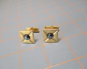 Vintage Gold/Silver Tone Cufflinks