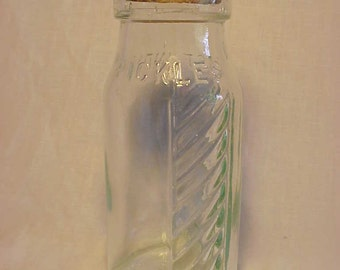 Pat. Dec'r 4th 1894 East India Pickles Fruit Jar Canning Jar Pickle Bottle