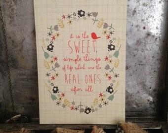 Happy Birthday/Birthday Greeting Card