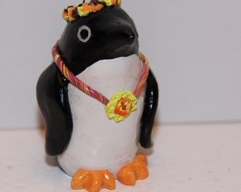 Flower Child Penguin