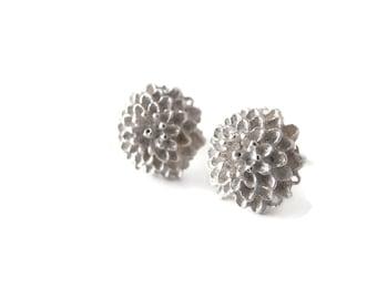 Chrysanthemum Sterling Silver