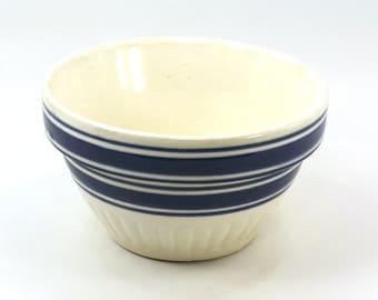Yellowware Mixing Bowl Small 6 inches 1930
