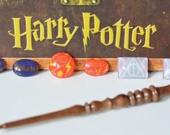 Harry Potter Inspired Magnets, Set of 6