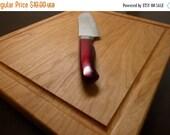 10% OFF THRU FEB Add-On Cutting Board Option - Add Juice Groove to Cutting Side (Blank side)