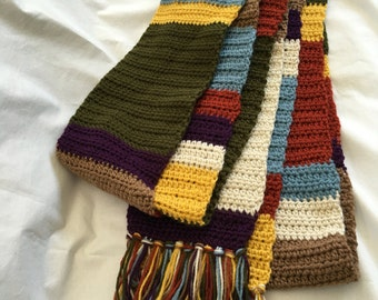15.5 ft. ready to ship Doctor Who replica scarf