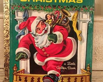 The Night Before Christmas Vintage Christmas Book