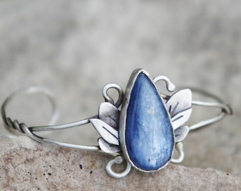 Petrichor Silver Elven Bracelet    |   Adjustable Sterling Silver