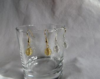 Basket Wire Earrings