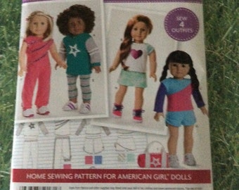 Simplicity Pattern 0171(also sold as Simplicity 8042)-Designed for Knit Fabrics Only For 18 Inch Dolls