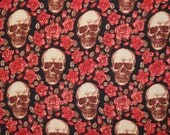 skulls and roses waistcoat for calblanch