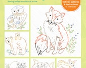 Woodland Animal Hot Iron Transfers