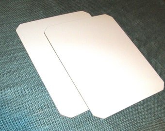 Dry Erase Board, 11 x 8 1/2, Pack of 2, White Board Office School Supply - Shipping Discounts