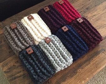 Women's Crochet Boot Cuffs, Boot Toppers, Boot Socks, Faux Leg Warmers, Chunky and Thick, Textured and Stretchy, Listing is for ONE PAIR