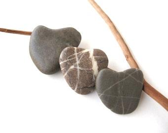 Rock Hearts Heart Shaped Stones Pocket Charm Zen Stone Pebble Heart Natural Stone Heart Valentine Love Heart Diy Wedding Gift ME MYSELF n I