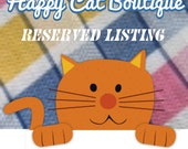 Reserved Listing for Lorelei M.