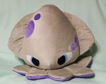 Custom made Kracken plushie