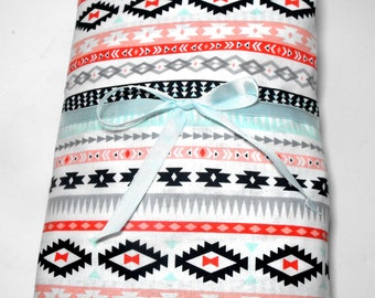 Southwestern Fitted Crib Sheet Toddler Fitted Sheet Geometric Baby Sheet