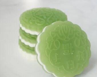 Soap Bar - Matcha Tea Soap - Gift for Her - Girlfriend Stocking Stuffer Soap - Christmas Gift - Vegan Soap - Wife Xmas Gift - Women Gift