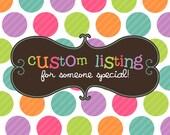 Custom Cut Listing for TanisKnits