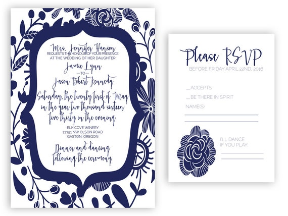 wedding invitation suite assembly and by agirlfridaydesign With wedding invitation suite assembly