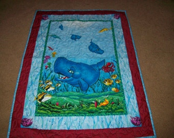 Spouty and Friends Crib Quilt