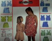 1998 Cross Back ~ Halter Style Top & Shorts ~ Skorts Pattern McCall's 9369 Girls' 10-12-14. SUMMER SKORTS SET Pattern at WhiletheCatNaps