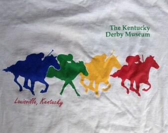 Vintage The Kentucky Derby Museum Louisville t shirt USA medium