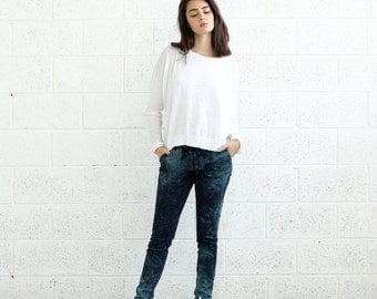 Summer SALE Mother's Day Sale Spray Skinny pants