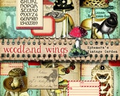 "Woodland Wings - 5x7"" Printable Journal Kit"