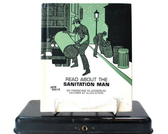Read About The Sanitation Man by Francine Klagsbrun HC 1972