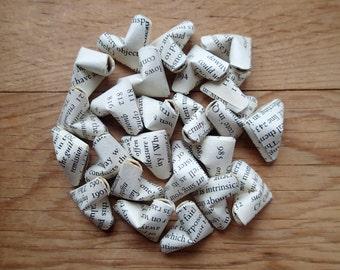 Shakespeare's Narrative Poems Origami Hearts.