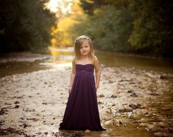 Eggplant Jersey Girl Dress