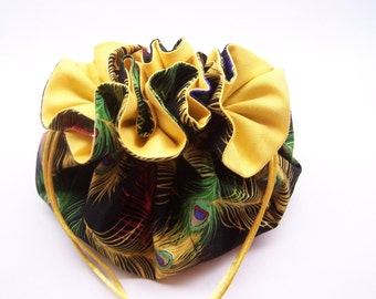 Feather Jewelry Pouch