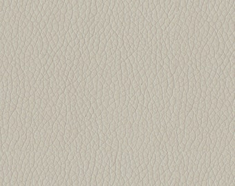 Quality Leather Look Upholstery Fabric -Faux Leather for upholstery- Home and Automobile-Color: Grey -Simulated Leather- per yard