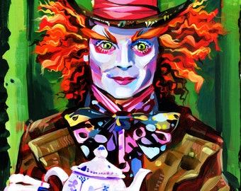 Mad Hatter print by Shaunna Peterson