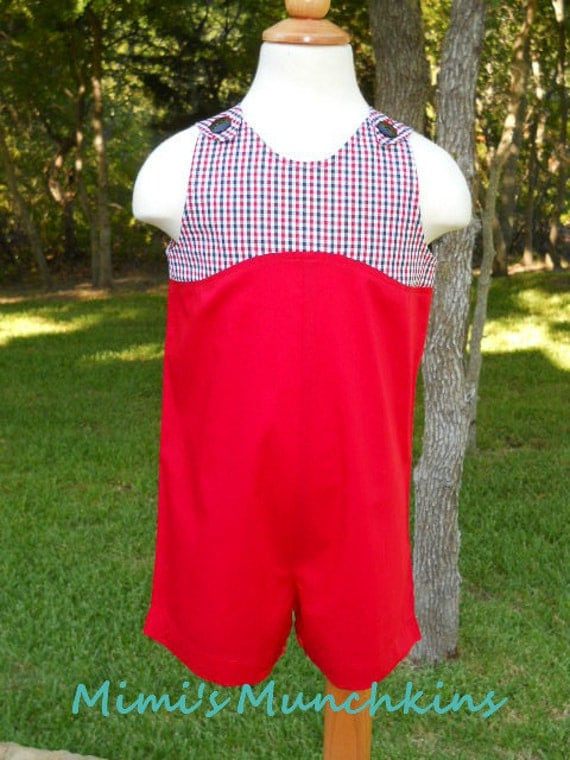 Boutique Kids Clothes, Toddler Boys, JonJon, Romper, Shortall, One Piece, Jumpsuit, Size: 2T, Clearance, Ready to Ship