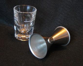 Vintage Sixties Liquor Shot Glass Bundle