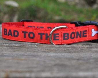 Dog Collar - Bad Dog - 50% Profits to Dog Rescue