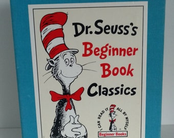 1985-1991 Renewed issues of Dr Suess Beginner Books Classics Set of 5 books