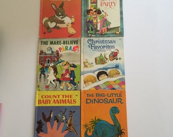 6 Vintage Wonder Books