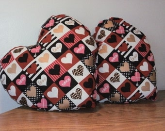 Heart Shaped Valentine's Pillows