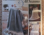 Afghans for All Reasons & All Seasons - Leisure Arts - Leinhauser Weiss - Crochet Patterns