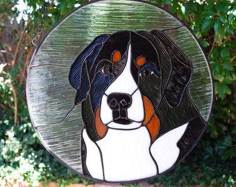 """Custom Pet Portrait - 15"""" diameter Round"""
