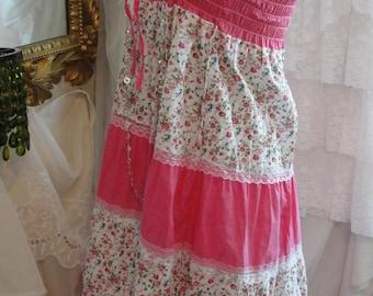 Boho chic, gypsy, bohemian dress/skirt