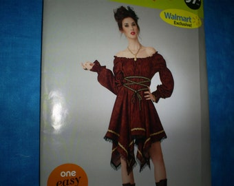 Simplicity 0885 Pirate Dress Costume. Misses's Size 8-18.