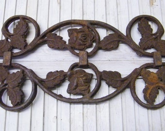 Rusty Old Cast Iron Architectural Salvage Display Piece